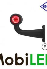 HORPOL Breedtelamp Contour Kort Gebogen Links 12-24 volt E-keur