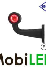 HORPOL Breedtelamp Contour Lang Gebogen Links 12-24 volt E-keur