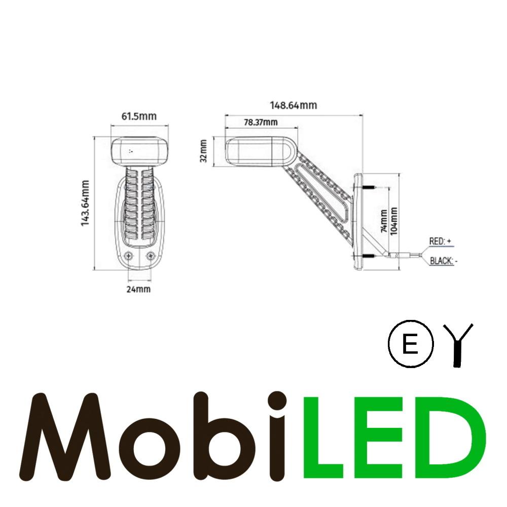 Pendelverlichting horizontaal  rechts E-keur