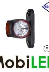 HORPOL Pendellamp Rond Kort model Rood/Amber/Wit E-keur
