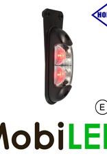 HORPOL Zijmarkering / contourverlichting Rood+Wit hangend 12-24v