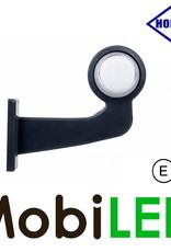 HORPOL NEON Breedtelamp Deens model Links Gebogen  12-24 volt E-keur