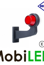HORPOL NEON Breedtelamp Deens model Rechts Gebogen  12-24 volt E-keur