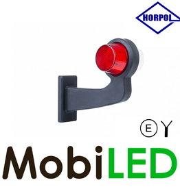 HORPOL LED Deens model Rechts Gebogen  12-24v