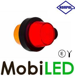 HORPOL Neon LED Deens model rood/amber Kort  12-24v