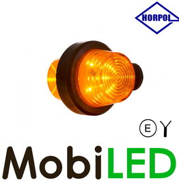 HORPOL LED Deens model Amber Kort  12-24v