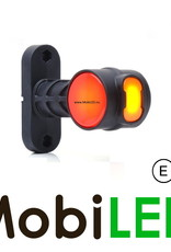 WAS NEON LED Pendellamp Rond Recht model Rood/Amber/Wit