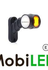 WAS NEON LED pendellamp Schuin model Kort Links Rood/Amber/Wit