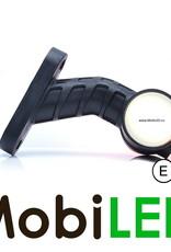 NEON pendellamp Schuin model Kort Links Rood/Amber/Wit