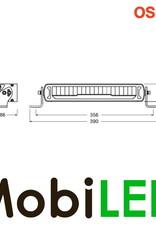 MX250-CB Light bar 45 Watt 356 mm positielicht combo E-keur