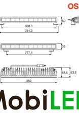 SX300-SP Light bar 29 Watt 350 mm spot E-keur
