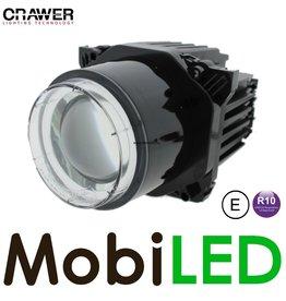 Crawer Crawer koplamp groot en dimlicht 12-24V rond
