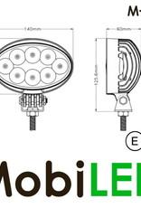 M-LED M-LED werklamp 40watt ovaal E-keur