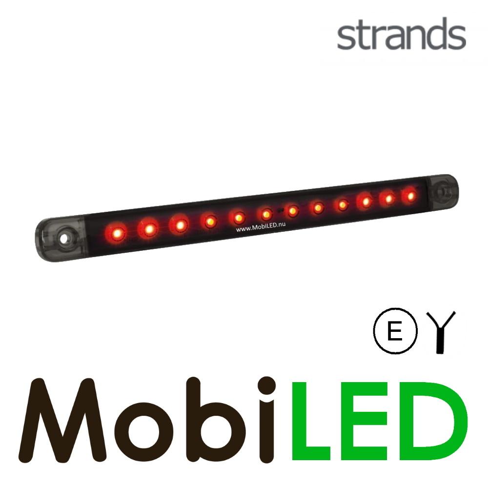 Strands Strands achterlicht rood dark  look 12-24v E-keur