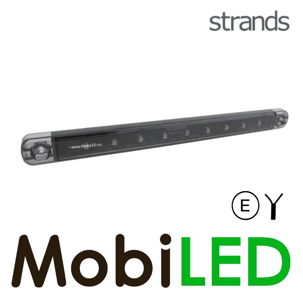Strands Strands richtingaanwijzer dark look 12-24v E-keur