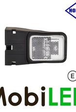 HORPOL Horpol zijmarkering  blokje wit hoekhouder Neon