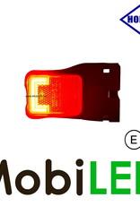 HORPOL Horpol zijmarkering  blokje rood hoekhouder Neon