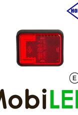HORPOL Horpol zijmarkering  blokje rood Neon