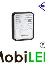HORPOL Horpol zijmarkering  blokje wit Neon