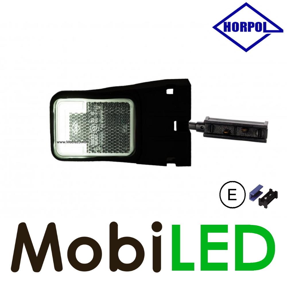 HORPOL Horpol zijmarkering  blokje wit hoekhouder quick connector Neon