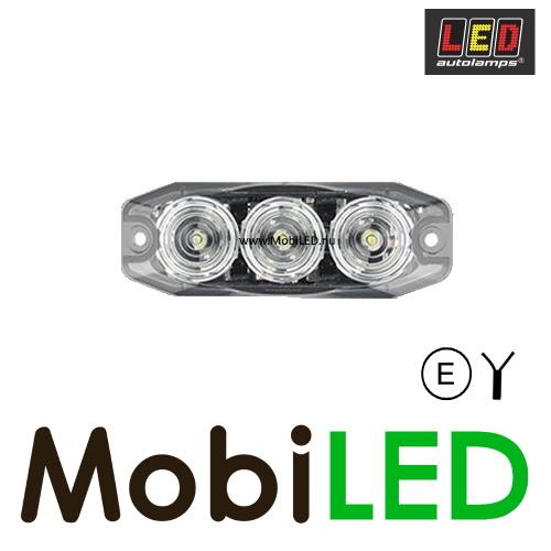 LED autolamps Remlicht 3 led helder 12-24V E-Keur