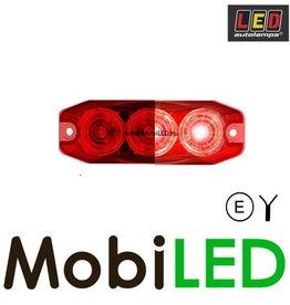 LED autolamps Mistlamp 3 led rood