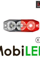 LED autolamps Mistlamp 3 led helder 12-24V E-Keur