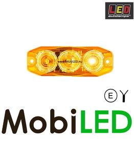 LED autolamps Richtingaanwijzer 3 led amber (achterkant)