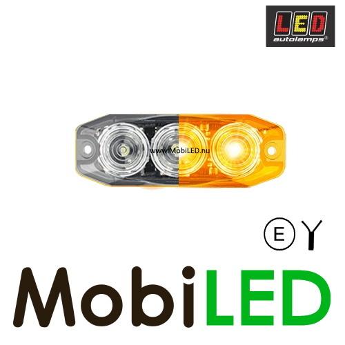 LED autolamps Richtingaanwijzer 3 led helder 12-24V E-Keur