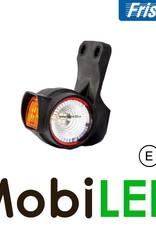 Fristom Pendellamp Schuin model Rechts kort E-keur Rood-Amber-Wit 12-24 volt
