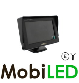 """Monitor 4,3"""" bedraad voor CA020"""