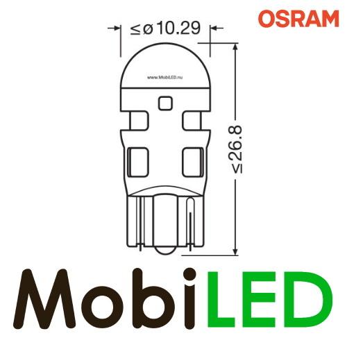 OSRAM  W2.1 x 9.5d (W5W)  LEDriving SL  (2 stuks) Amber