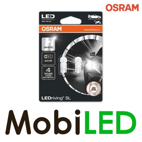 OSRAM  W2.1 x 9.5d (W5W)  LEDriving SL  (2 stuks) Wit