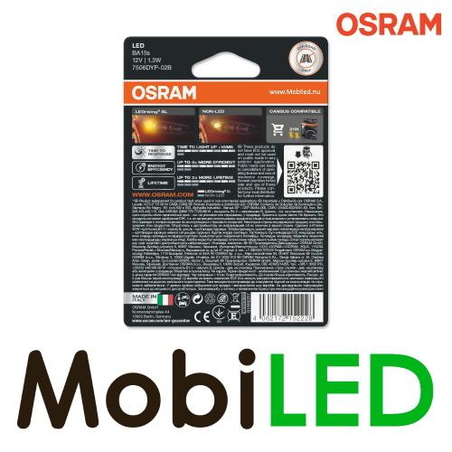OSRAM P21W (BA15s) LEDriving SL (2 stuks) Amber