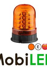Flitslamp 24 LED vaste montage amber E-keur