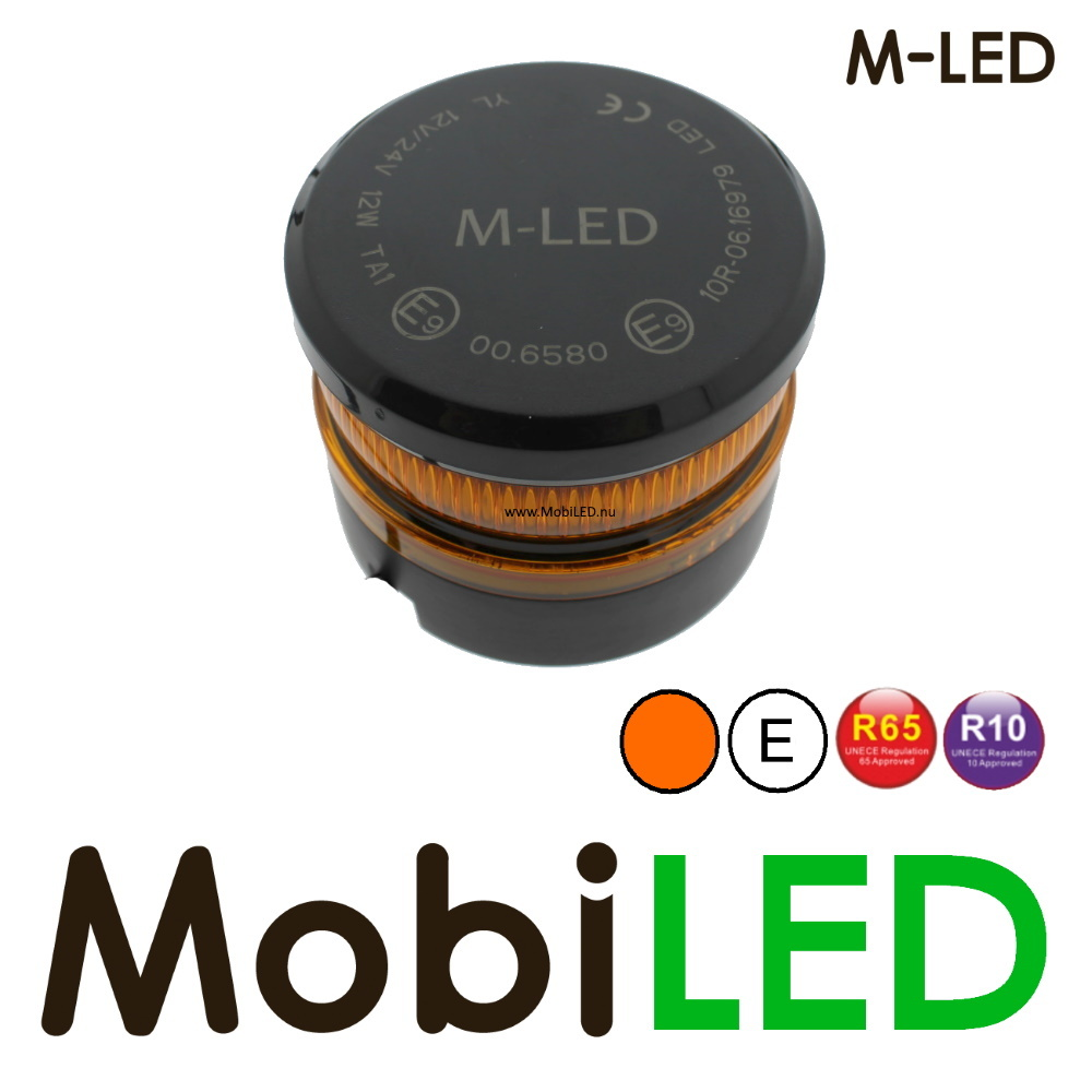 M-LED Mini zwaailamp magneet E-keur