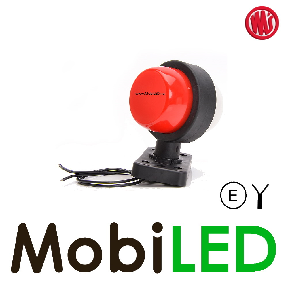 WAS Neon model rood/wit Kort 12-24 volt E-keur