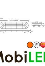Flitsbalk 1240 60w  ECE R10-R65 Amber