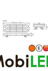 Flitsbalk 1002 60w ECE R10-R65 Amber