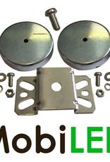 Montagebeugel magnetisch voor werklampen