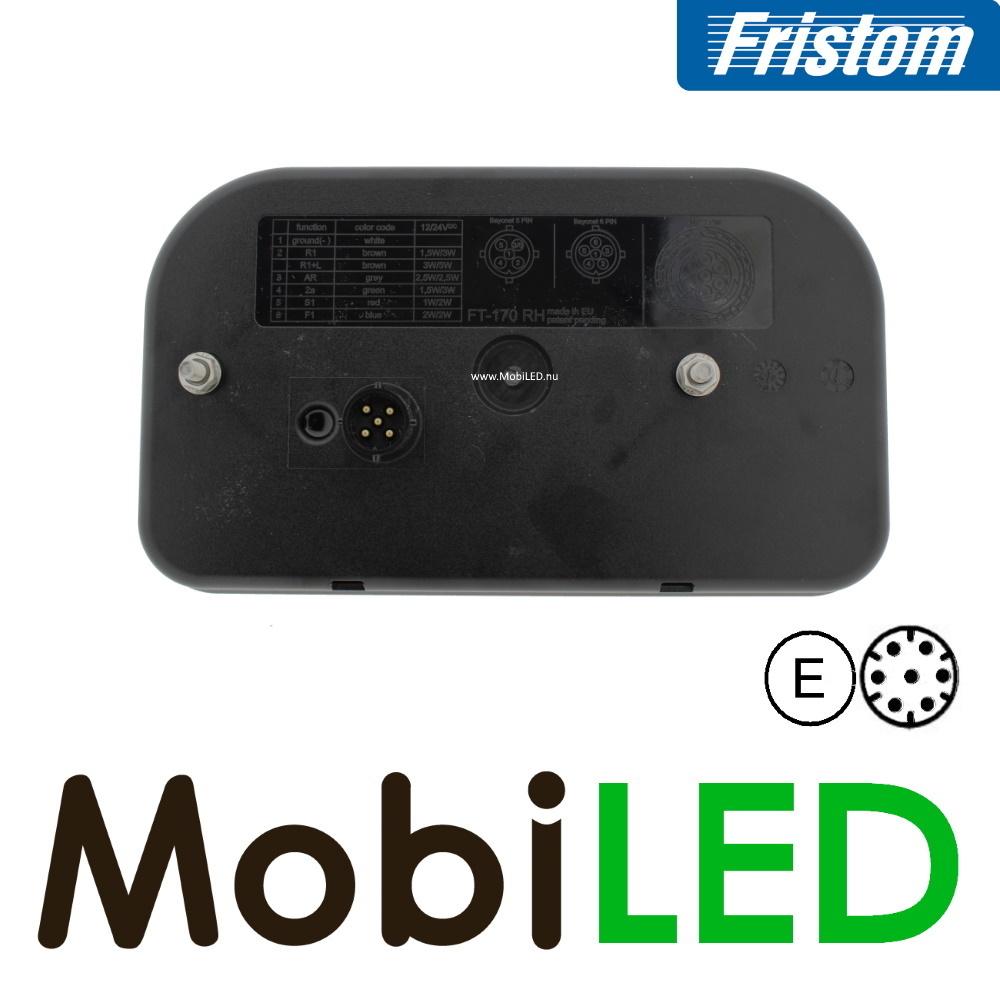 Fristom Achterlicht 5 functies links kenteken bajonet 7 pins