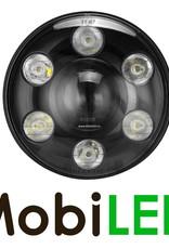 7 inch koplamp dimlicht en stadslicht zwart