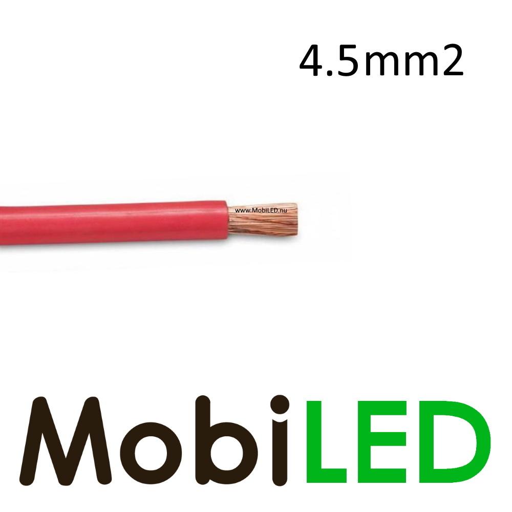 Aansluitkabel 1 x 4.5mm2 rood