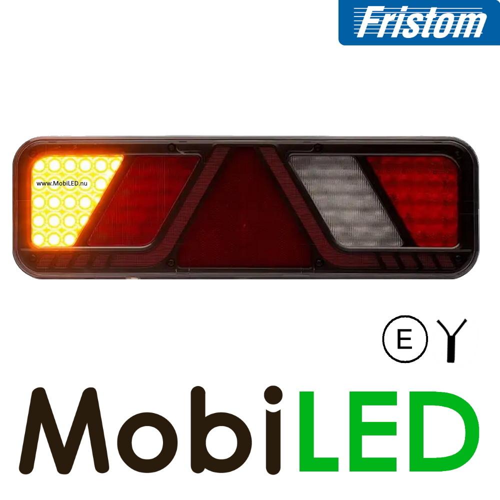 Fristom Achterlicht 5 functies reflector zijmarkering links 24v E-keur