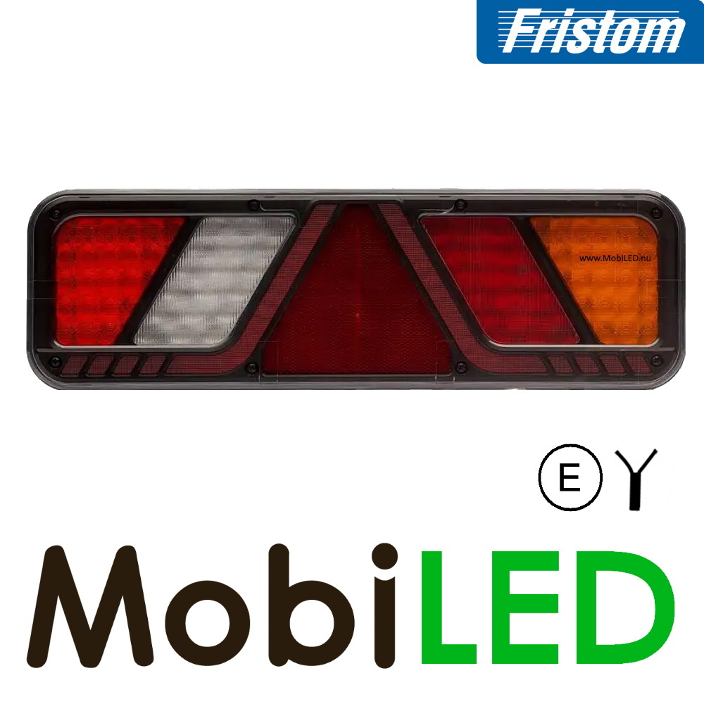 Fristom Achterlicht 5 functies reflector zijmarkering rechts 24v E-keur