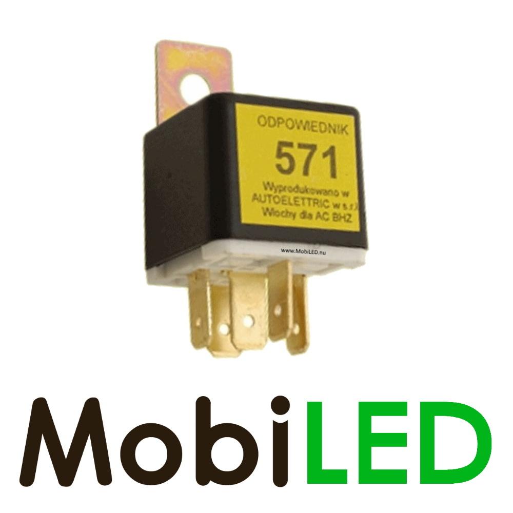 Maak-breek relais 571, 24 volt