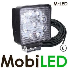 M-LED M-LED Werklamp 27w kabel 4m