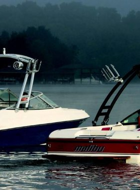 Monster Tower MTK Forward Facing Wakeboard Tower w/Nav Light- RAL color