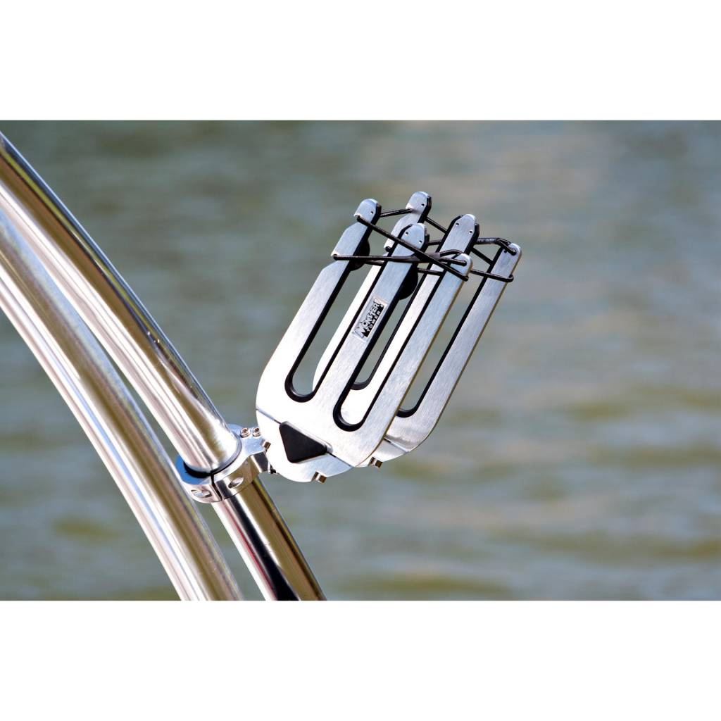 Monster Tower Quick Release Wakeboard Rack Brushed and Anodized - Uni.