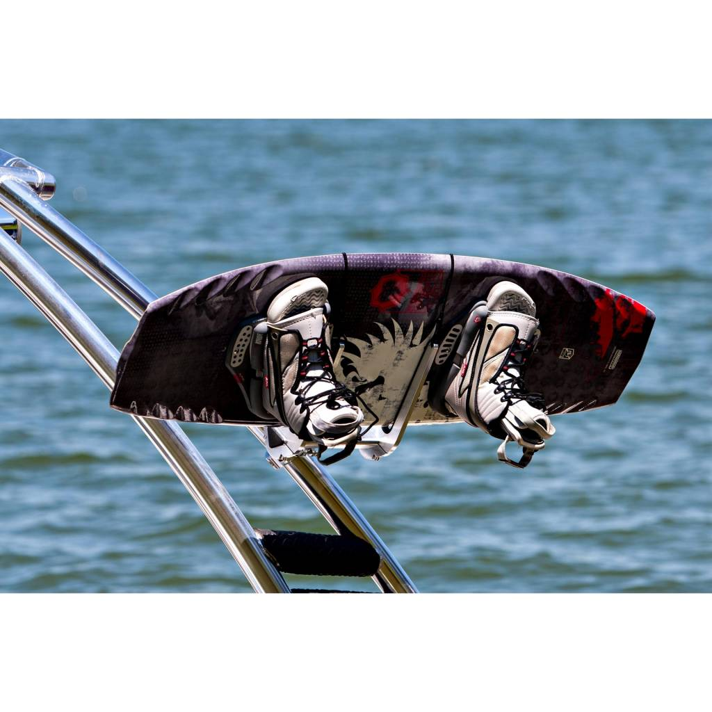 """Monster Tower Monster Tower Quick Release Wakeboard Rack Brushed and Anodized - 2.5"""""""